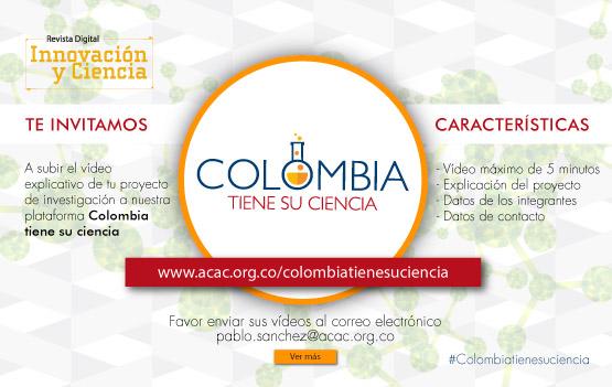 Colombia tiene su ciencia