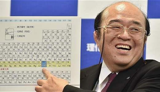 aprueban nombres de nuevos elementos qumicos de la tabla peridica