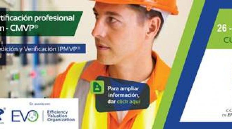 II curso de Certificación Profesional en Medición y Verificación del desempeño energético