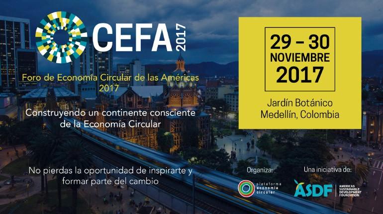 Foro de Economía Circular de las Américas se Presenta en Jardín Botánico de Medellín