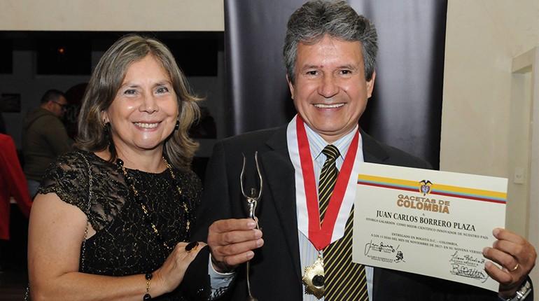 Científico caleño gana Galardón Gacetas de Colombia y obtiene reconocimiento mundial